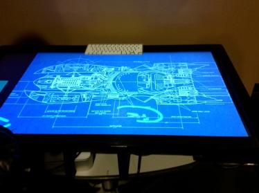 Interactive table, University of Texas, Austin.